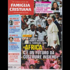 Famiglia Cristiana - n. 37 - 15 settembre 2019 - settimanale