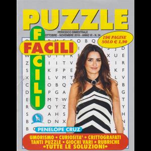 Puzzle Facili Facili - n. 34 - ottobre - novembre 2019 - 196 pagine - Penelope Cruz