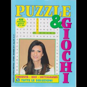 Puzzle  &  Giochi - n. 77 - bimestrale - ottobre - novembre 2019 - 68 pagine