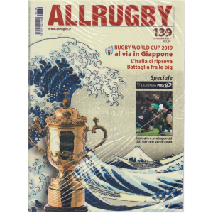 All Rugby - n. 139 - settembre 2019 - mensile