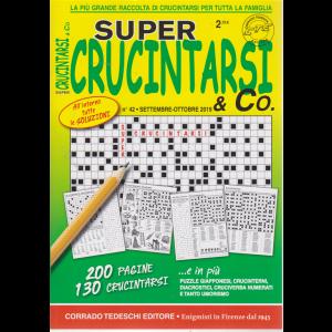 Supercrucintarsi & Co. n. 42 - settembre - ottobre 2019 - trimestrale - 200 pagine - 130 crucintarsi