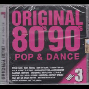 Saifam Music Control Vol. 3 - Original 80 - 90  pop & dance - rivista + cd -