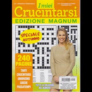 I Miei Crucintarsi -edizione magnum - speciale autunno - n. 3 - trimestrale - settembre / ottobr / novembre 2019 - 240 pagine