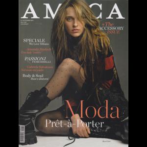 Amica - Milano Fashion Week - n. 10 - ottobre 2019 - mensile
