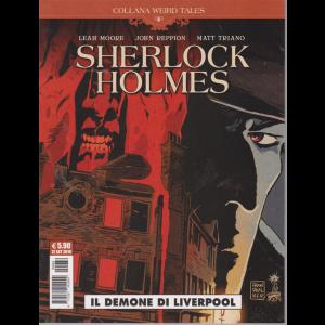 Cosmo Serie Blu - Shelock Holmes - Il demone di Liverpool - Collana weird tales n. 32 - 12 settembre 2019 - mensile