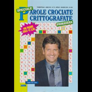 Speciale Parole Crociate crittografate primavera - n. 78 - trimestrale - aprile - giugno 2019 - 196 pagine