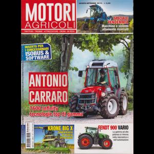 Motori Agricoli - n. 5 - agosto - settembre 2019 - bimestrale -