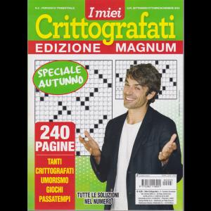 I Miei Crittografati -edizione magnum - n. 3 - trimestrale - settembre/ottobre/novembre 2019 - speciale autunno - 240 pagine