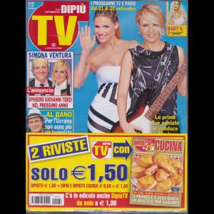 Dipiu' Tv+ - Dipiu' Cucina - n. 38 - 23 settembre 2019 - 2 riviste - settimanale -