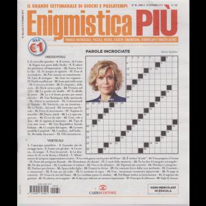 Enigmistica Piu' - n. 38 - 24 settembre 2019 - settimanale