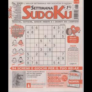 Settimana Sudoku - n. 736 - settimanale - 20 settembre 2019