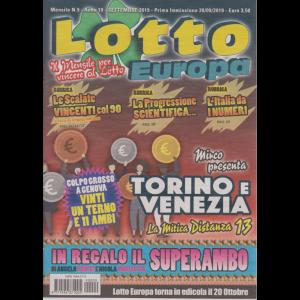 Lotto Europa - n. 9 - mensile - settembre 2019 -