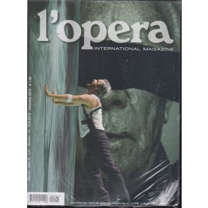 L'opera international magazine - n. 41 - mensile - settembre 2019 -