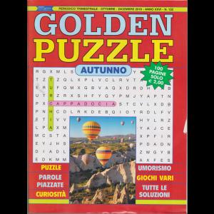 Golden Puzzle - n.132 - trimestrale - ottobre - dicembre 2019 -  autunno - 100 pagine