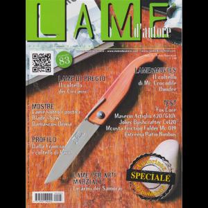 Lame D'autore - Artistiche, Sportive, da collezione - n. 83 - trimestrale - settembre - ottobre - novembre 2019