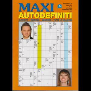 Maxi Autodefiniti - n. 71 - trimestrale - ottobre - dicembre 2019