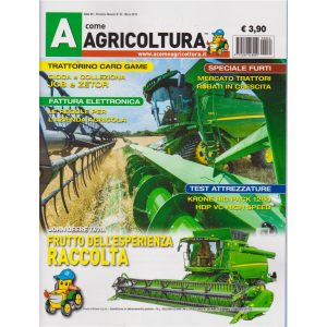 A Come Agricoltura - n. 62 - mensile - marzo 2019 -