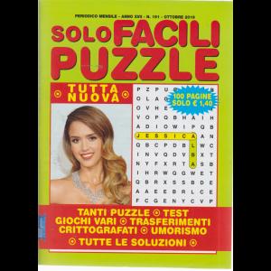 Solo facili puzzle - n. 191 - mensile - ottobre 2019 - 100 pagine