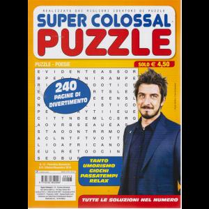 Super Colossal puzzle - n. 13 - bimestrale - ottobre - novembre 2019 - 240 pagine di divertimento