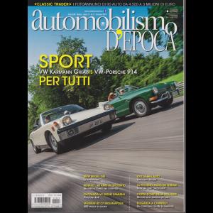 Automobilismo d'epoca - n. 9 - mensile - settembre 2019 -