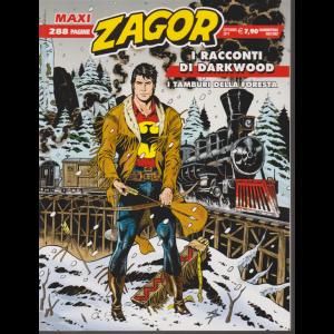 Maxi Zagor - settembre 2019 - quadrimestrale - 288 pagine .Iracconti di Darkwood - I tamburi della foresta
