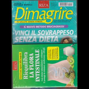 Dimagrire - n. 210 - mensile - ottobre 2019 - + il libro Riequilibra la flora intestinale -rivista + libro