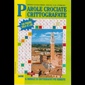 Parole Crociate crittografate - n. 313 - mensile - ottobre 2019 - 100 pagine