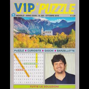 Vip Puzzle - n. 329 - mensile - ottobre 2019 -