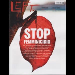 Left Avvenimenti - n. 38 - settimanale - 20 settembre 2019 - 26 settembre 2019