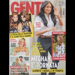 Gente - n. 38 - settimanale di attualità - 28/9/2019