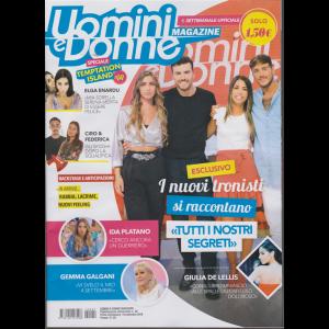 Uomini e  Donne Magazine - n. 29 - settimanale - 19 settembre 2019 -