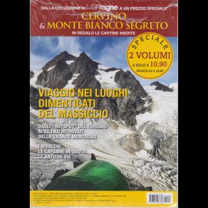 Dalla collezione di Meridiani Montagne  a un prezzo speciale Cervino & Monte Bianco segreto in regalo le cartine inedite - n. 100 - settembre 2019 - 2 volumi