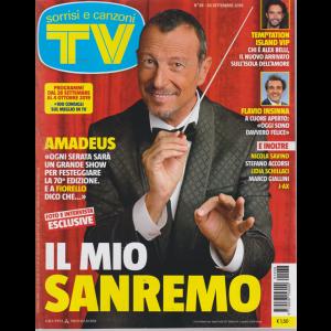 Sorrisi E Canzoni Tv - settimanale n. 38 - 24 settembre 2019