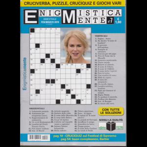 Enigmisticamente - n. 7 - bimestrale - febbraio - marzo 2019 -