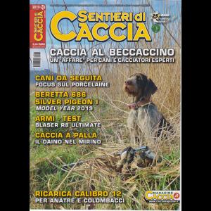 Sentieri di Caccia - n. 10 - mensile - ottobre 2019 -