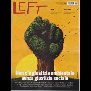 Left Avvenimenti - n. 39 - 27 settembre 2019 - 3 ottobre 2019 - settimanale