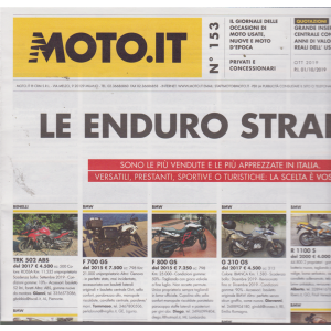 Moto.It - n. 153 - mensile - 1/10/2019