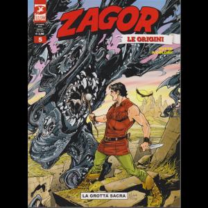 Zagor Gigante - La Grotta Sacra - Le origini - n. 14 - 28 settembre 2019 - mensile