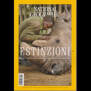 National Geographic - Estinzioni - n. 4 - ottobre 2019 - mensile