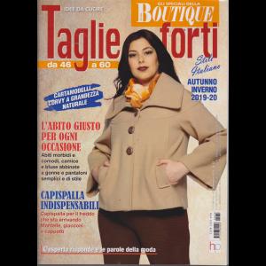 Gli speciali della boutique - Taglie forti stile italiano - da 46 a 60 - autunno - inverno 2019-20 - trimestrale - 26 settembre 2019 - n. 32
