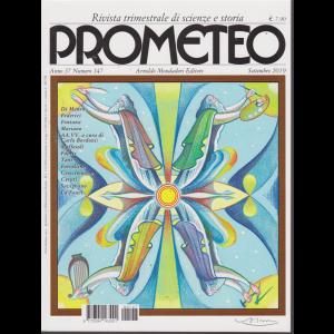Prometeo - n. 147 - trimestrale - settembre 2019 -