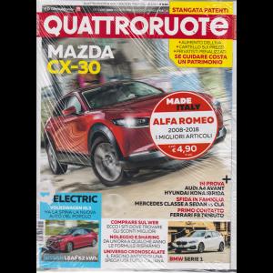 Quattroruote + Made by Italy - 2008-2018 i migliori articoli Alfa Romeo - n. 770 - ottobre 2019 - mensile - 2 riviste