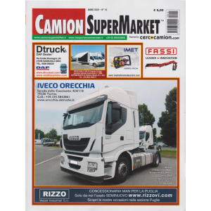 Camion Super Market - n. 10 - 2 ottobre 2019 -