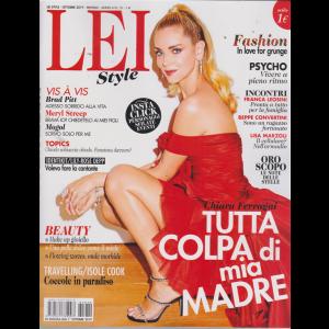 Lei  style- n. 10 - ottobre 2019 - mensile