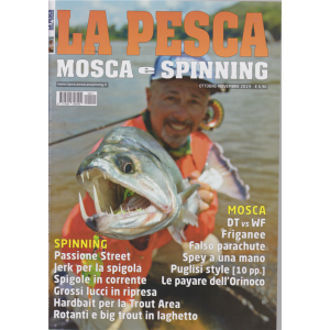 La pesca mosca e spinning - n. 11 - ottobre - novembre 2019 -