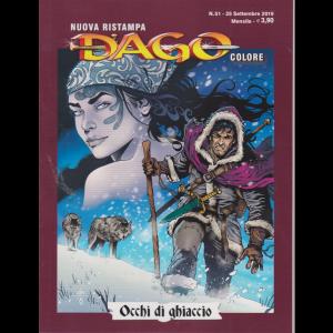 N.Ristampa Dago Colore - Occhi di ghiaccio - n. 51 - 25 settembre 2019 - mensile