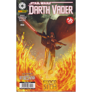 Panini Dark - Darth Vader N. 50 Star wars - Fuoco Sith - mensile - 26 settembre 2019 - 56 pagine