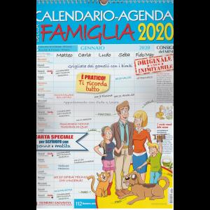 Calendario-Agenda della famiglia 2020 - cm. 30x43 con spirale