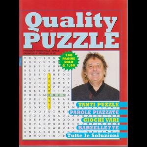 Quality Puzzle - n. 46 - trimestrale - aprile - giugno 2019 - 100 pagine