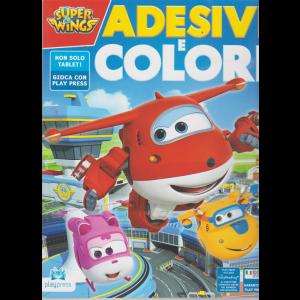 Super Wings Adesivi - e Colori - n. 17 - ottobre - novembre 2019 - bimestrale